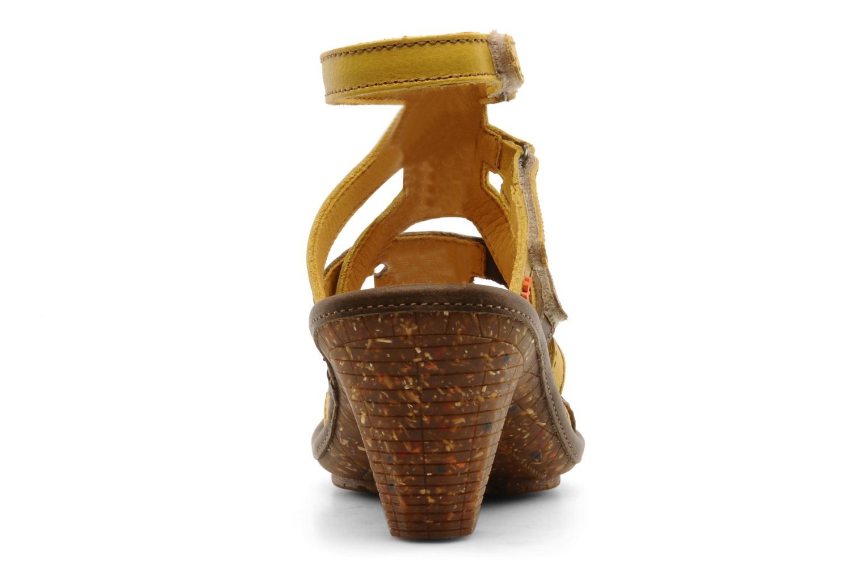 Sandali e scarpe aperte Art Saint honoré 777 Giallo immagine destra