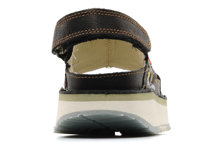 Sandales et nu-pieds Art Bio 028 Noir vue droite