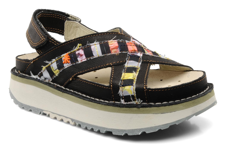 Sandales et nu-pieds Art Bio 028 Noir vue détail/paire