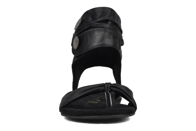 Sandales et nu-pieds Blowfish Lakota Noir vue portées chaussures