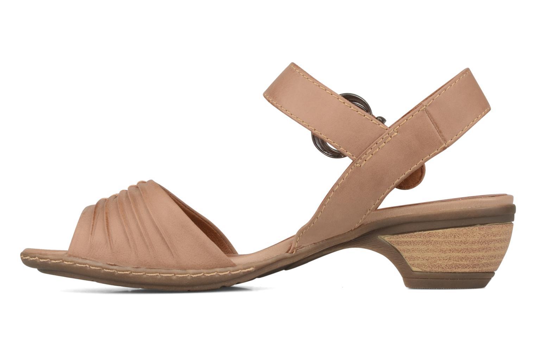 Jassilla Brown leather