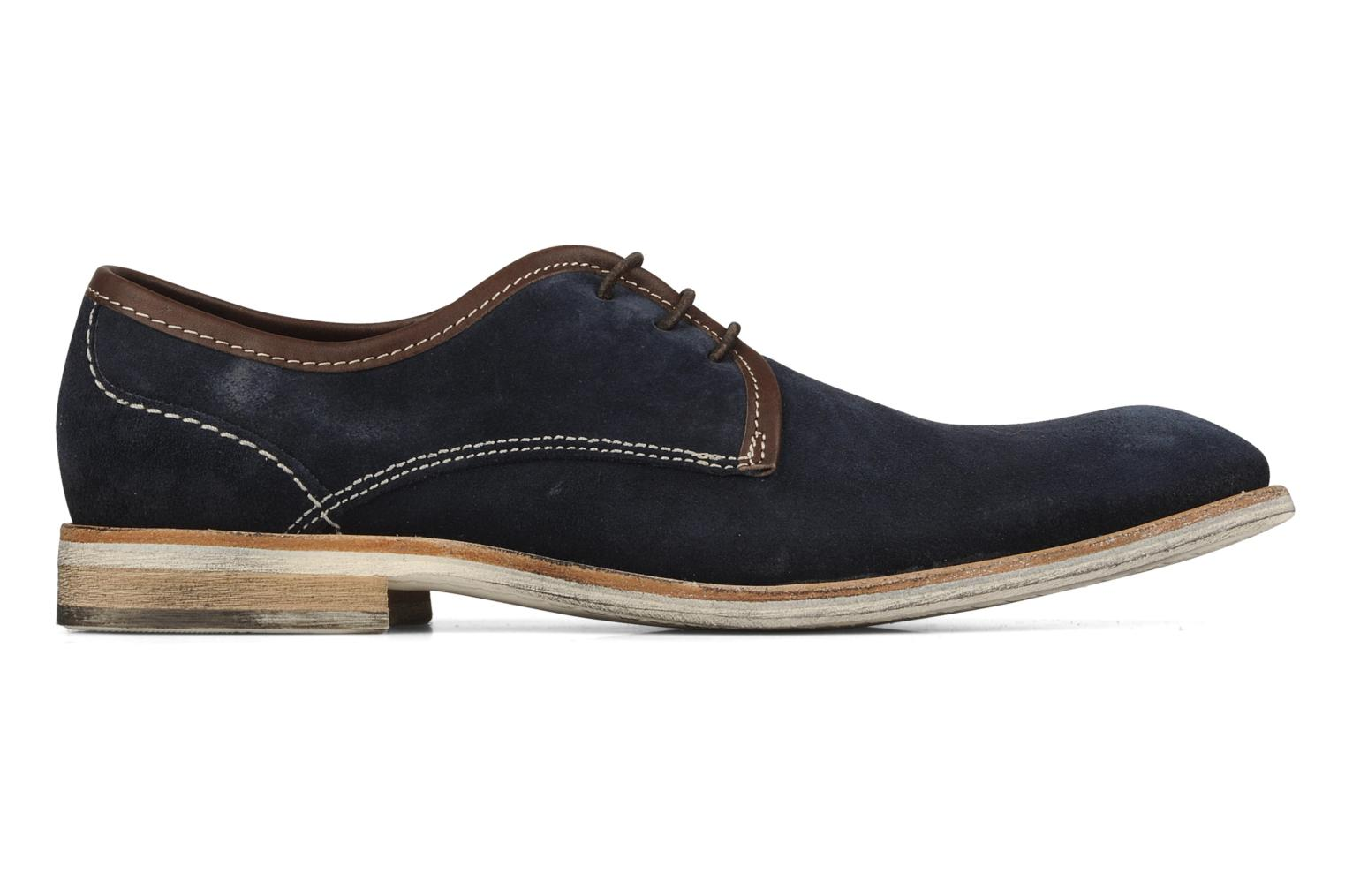 Lace-up shoes H by Hudson Rourke Blue back view