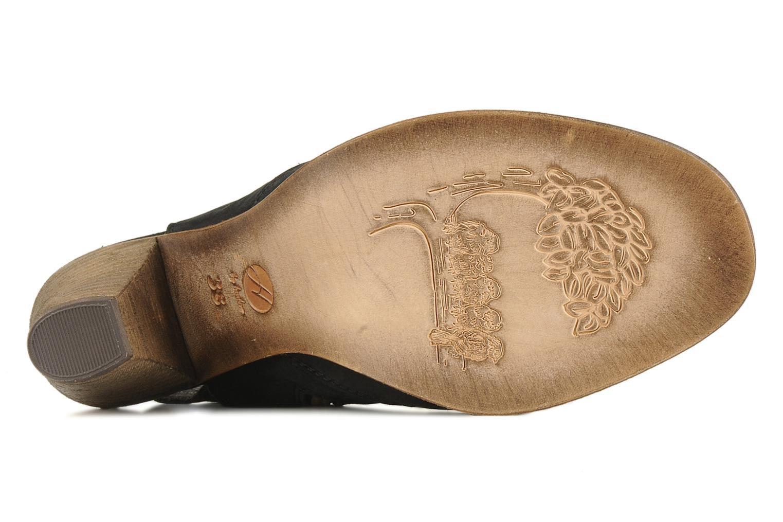 Sandales et nu-pieds H By Hudson Henshaw Noir vue haut