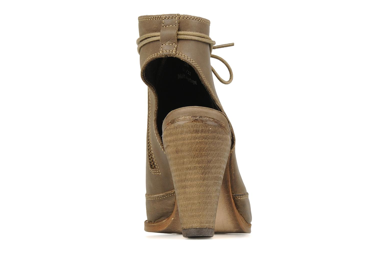 Sandali e scarpe aperte H by Hudson Henshaw Beige immagine destra