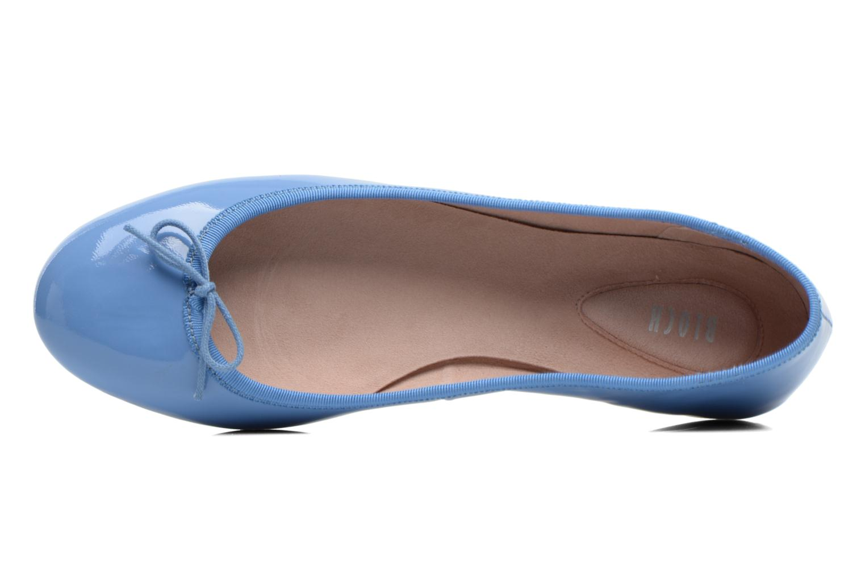 Ballerina's Bloch Patent ballerina Grijs links