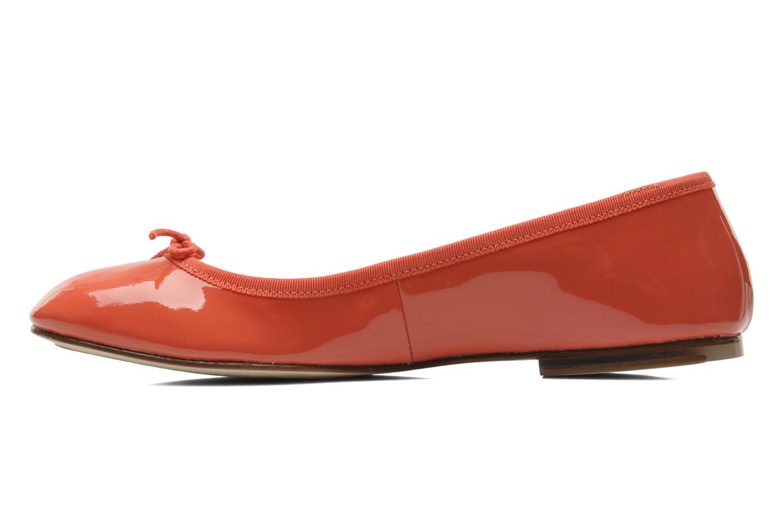Ballerina's Bloch Patent ballerina Oranje voorkant