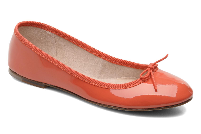 Ballerina's Bloch Patent ballerina Oranje detail
