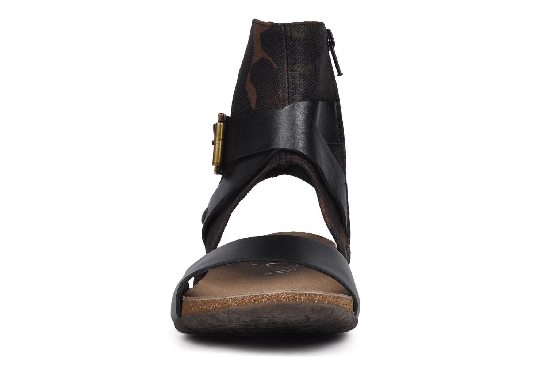 Sandalen Karston Kiou schwarz schuhe getragen