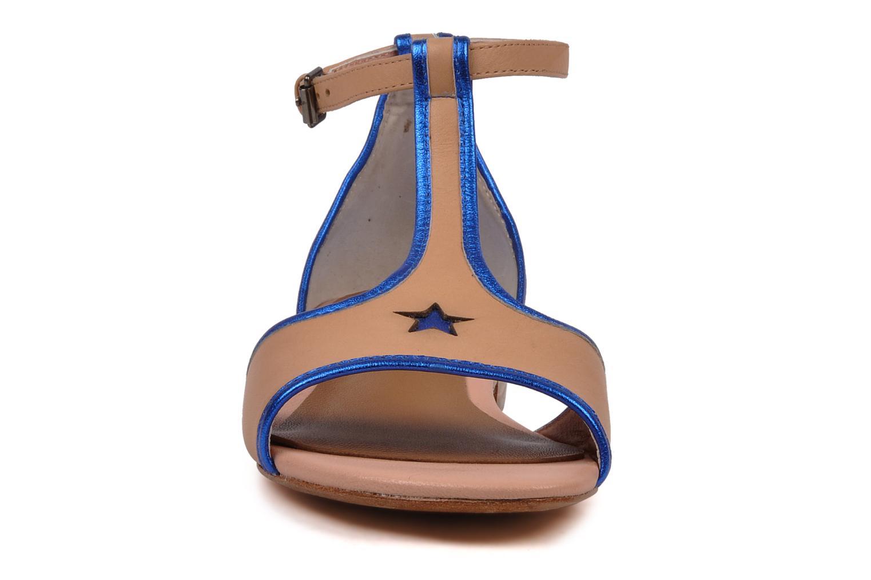 Sandales et nu-pieds C.Petula Starsky Beige vue portées chaussures