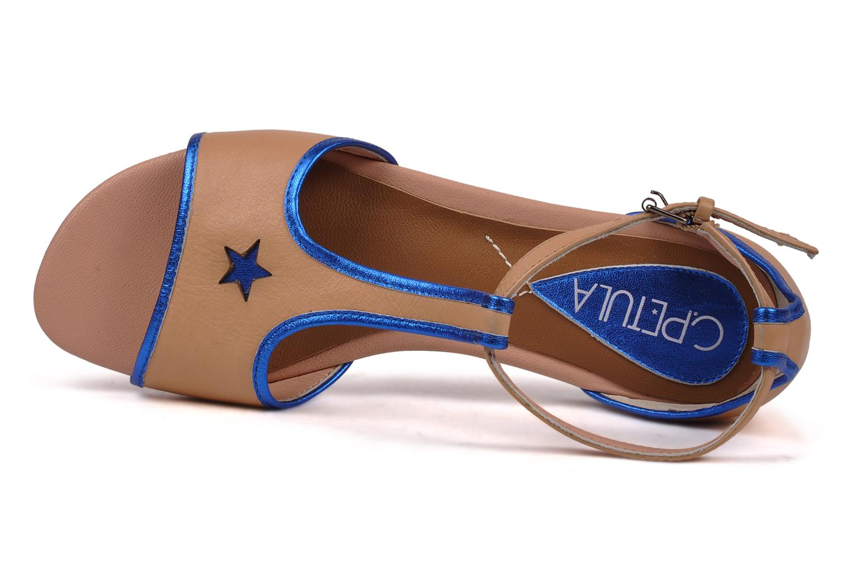 Sandales et nu-pieds C.Petula Starsky Beige vue gauche