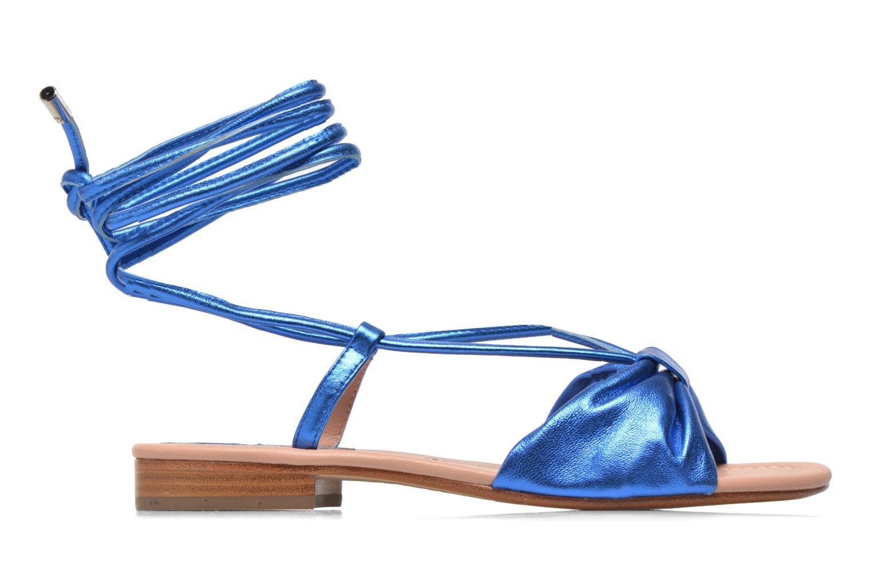 Sandales et nu-pieds C.Petula Rizzo Bleu vue derrière