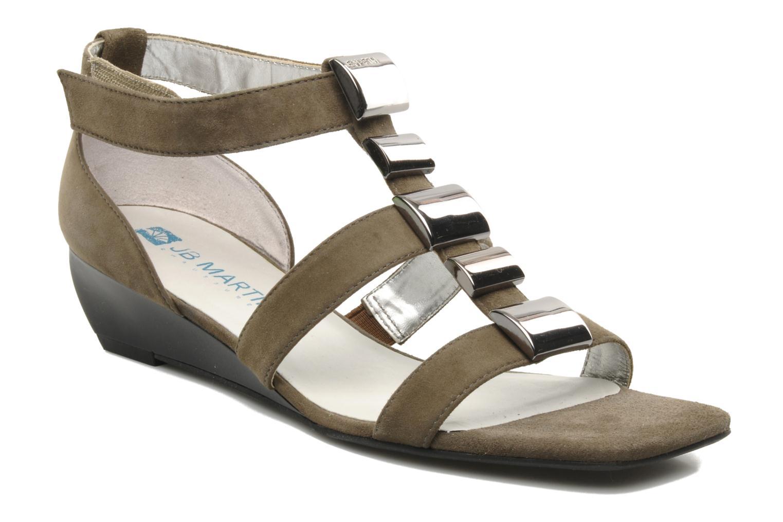 Sandales et nu-pieds JB MARTIN Iro Marron vue détail/paire