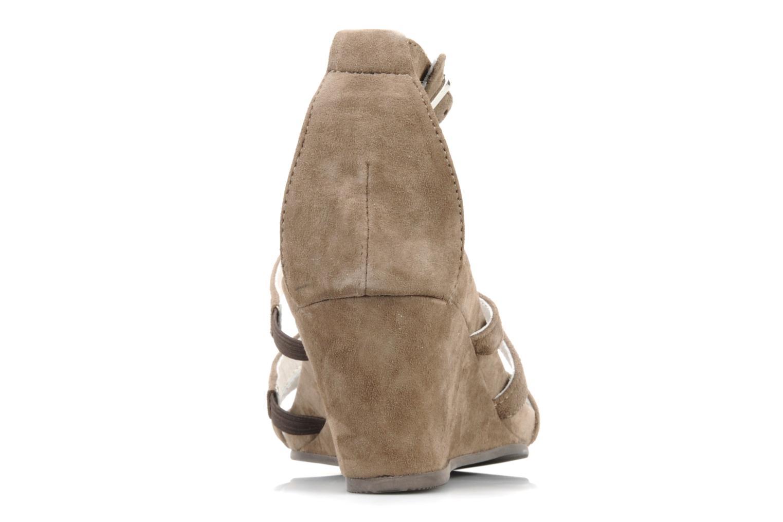 Sandales et nu-pieds JB MARTIN Byzance Marron vue droite