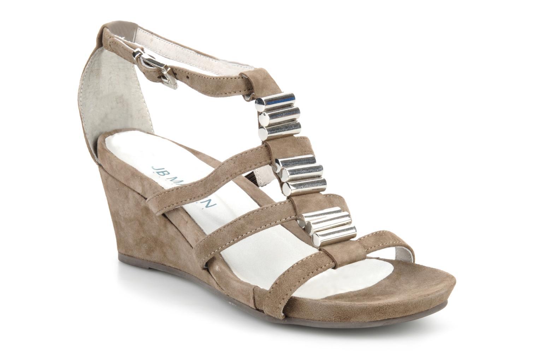 Sandales et nu-pieds JB MARTIN Byzance Marron vue détail/paire
