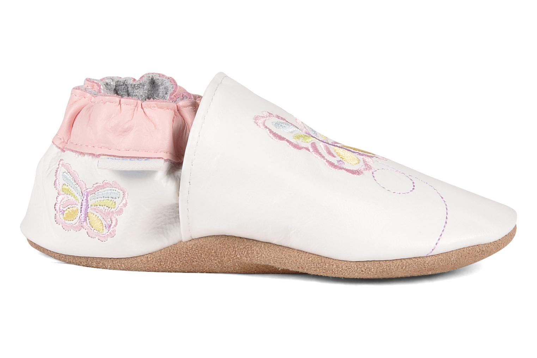 Pantofole Robeez Mini monarch Bianco immagine posteriore
