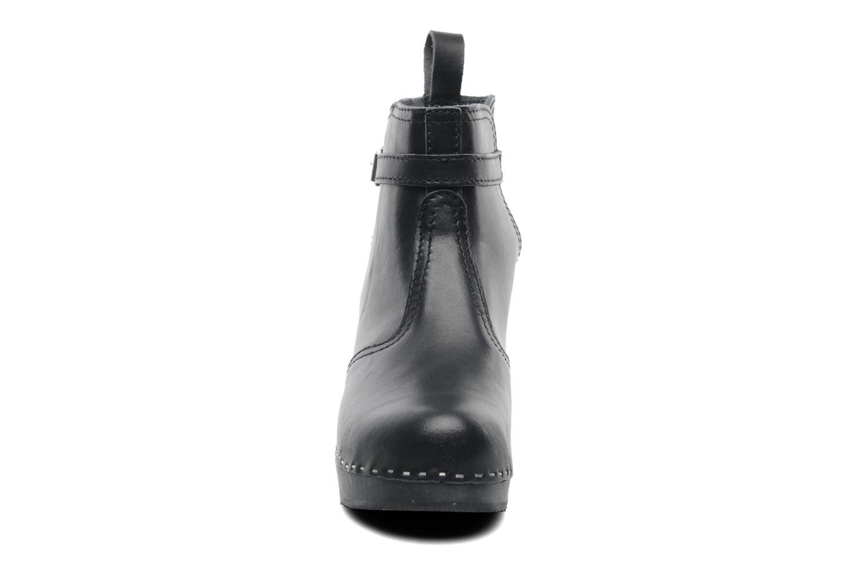 Boots en enkellaarsjes Swedish Hasbeens Jodhpur Zwart model