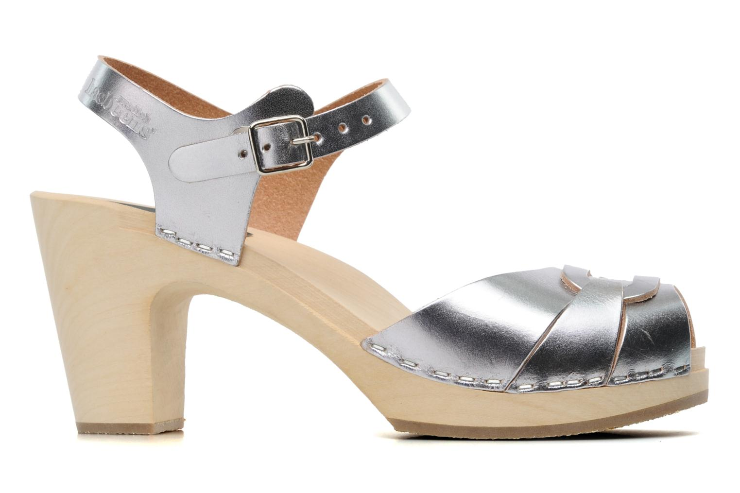 Peep toe super high antique silver
