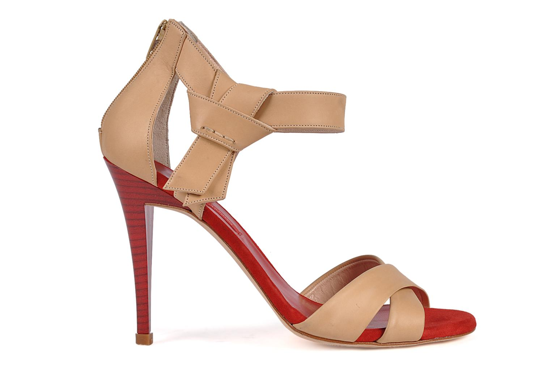 Sandals Charles Jourdan Pollock 1 Red back view