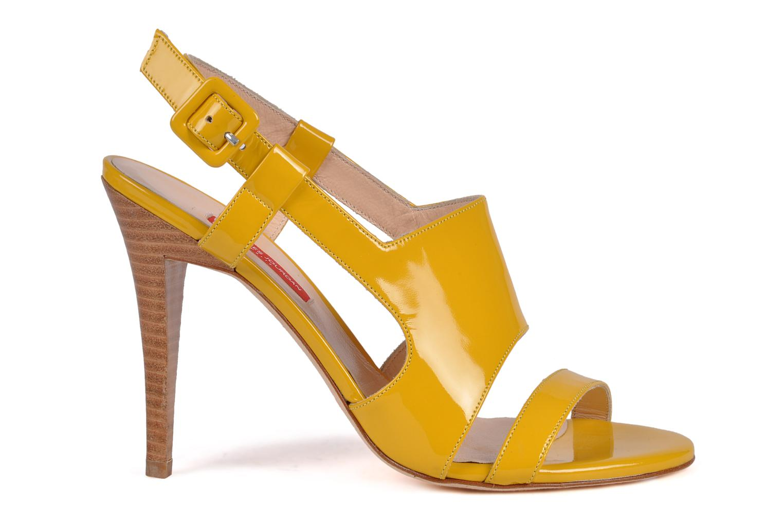 Sandali e scarpe aperte Charles Jourdan Pulpfiction Giallo immagine posteriore