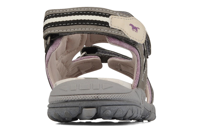 Sandales et nu-pieds Mustang shoes Peyo Gris vue droite