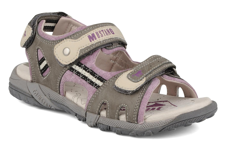 Sandales et nu-pieds Mustang shoes Peyo Gris vue détail/paire