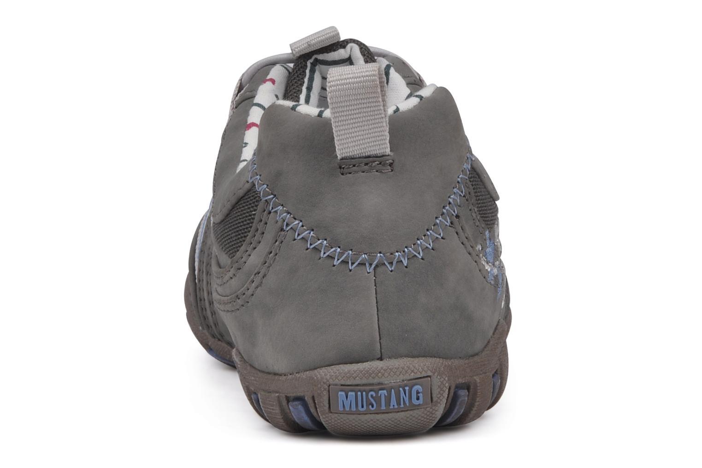Sneaker Mustang shoes Laggi grau ansicht von rechts