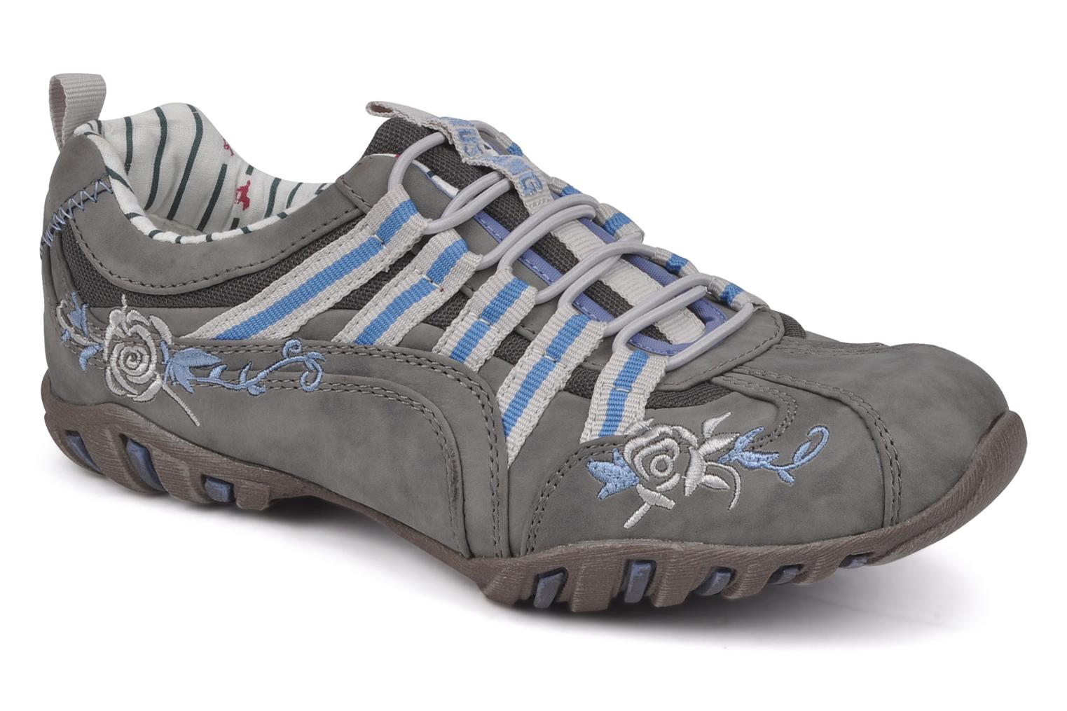 Trainers Mustang shoes Laggi Grey detailed view/ Pair view