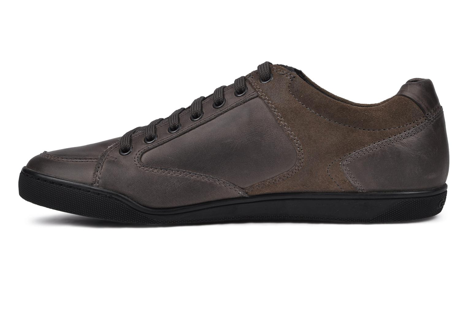 Trainers Geox U Cristian R Grey front view