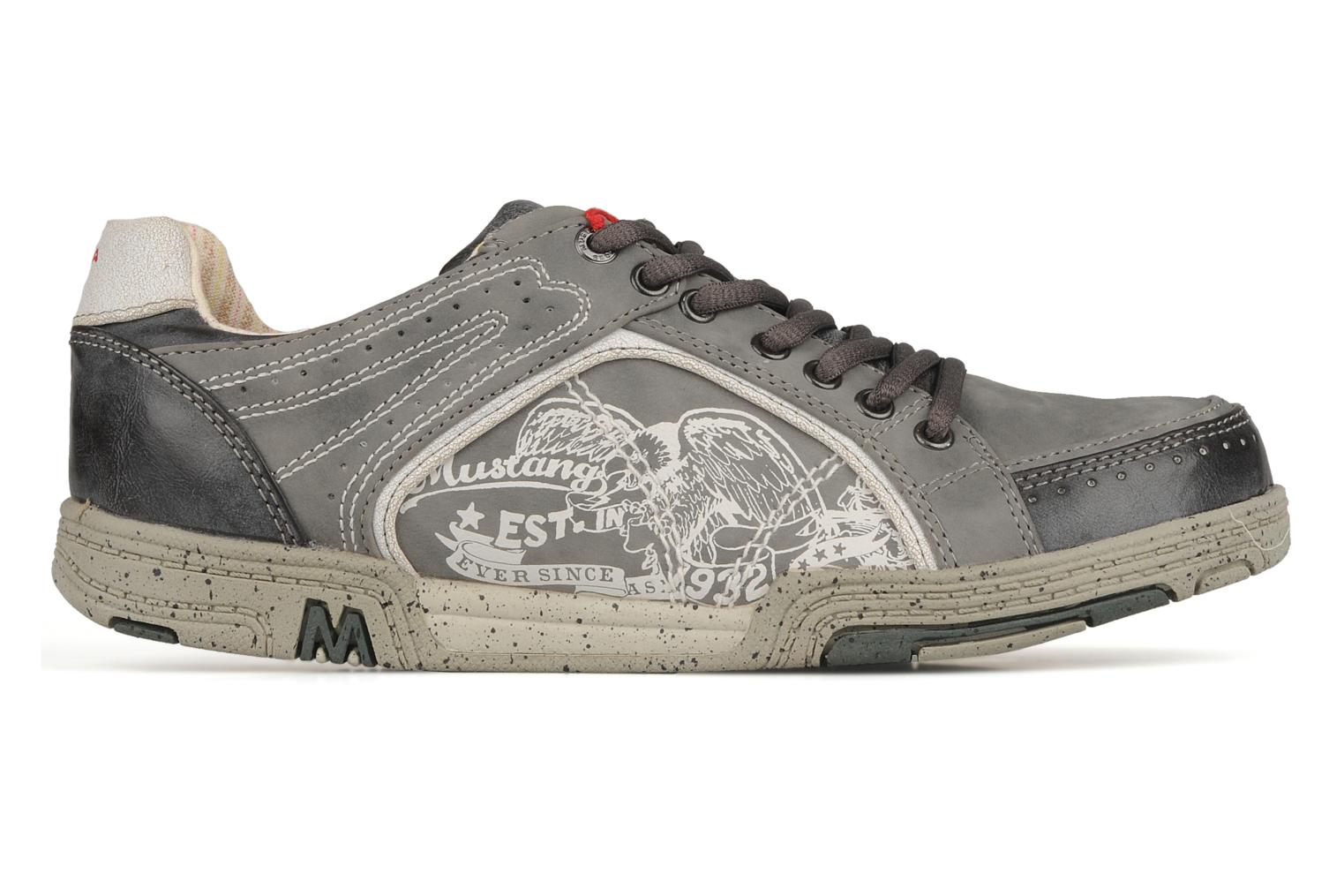 Trainers Mustang shoes Attelage 2 Grey back view