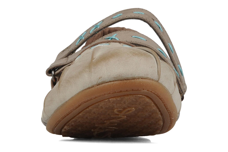 Ballerina's Mustang shoes Sorraia Beige model