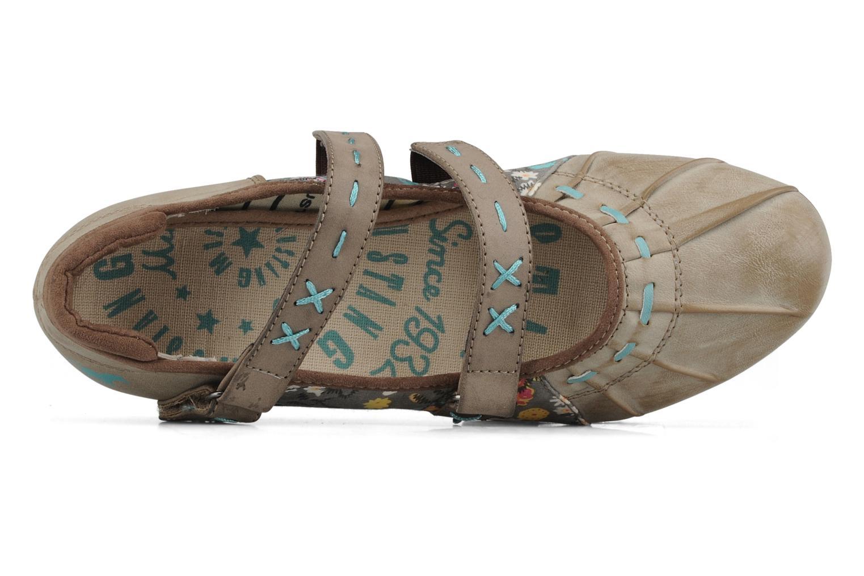 Ballerina's Mustang shoes Sorraia Beige links