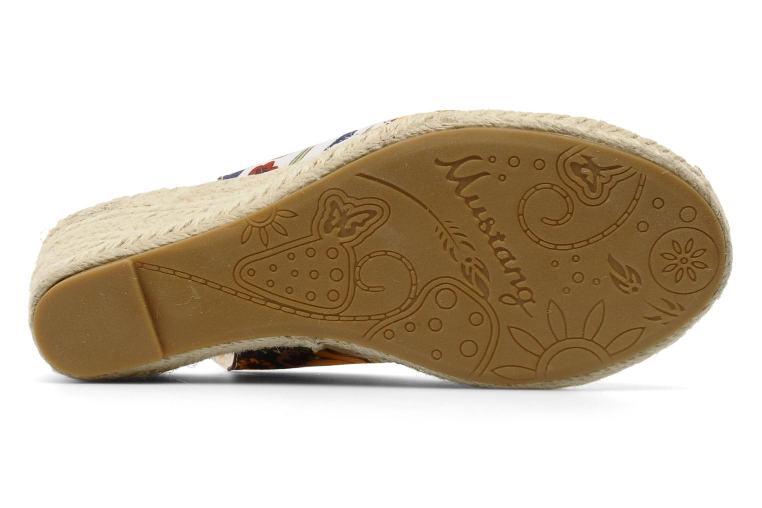 Sandalen Mustang shoes Curly Multicolor boven