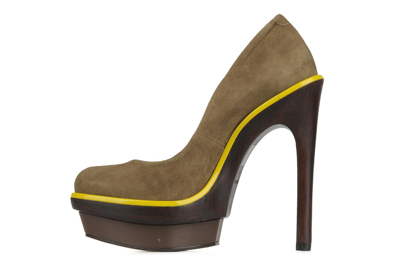 Zapatos de tacón Carvela Alpha Verde vista de frente