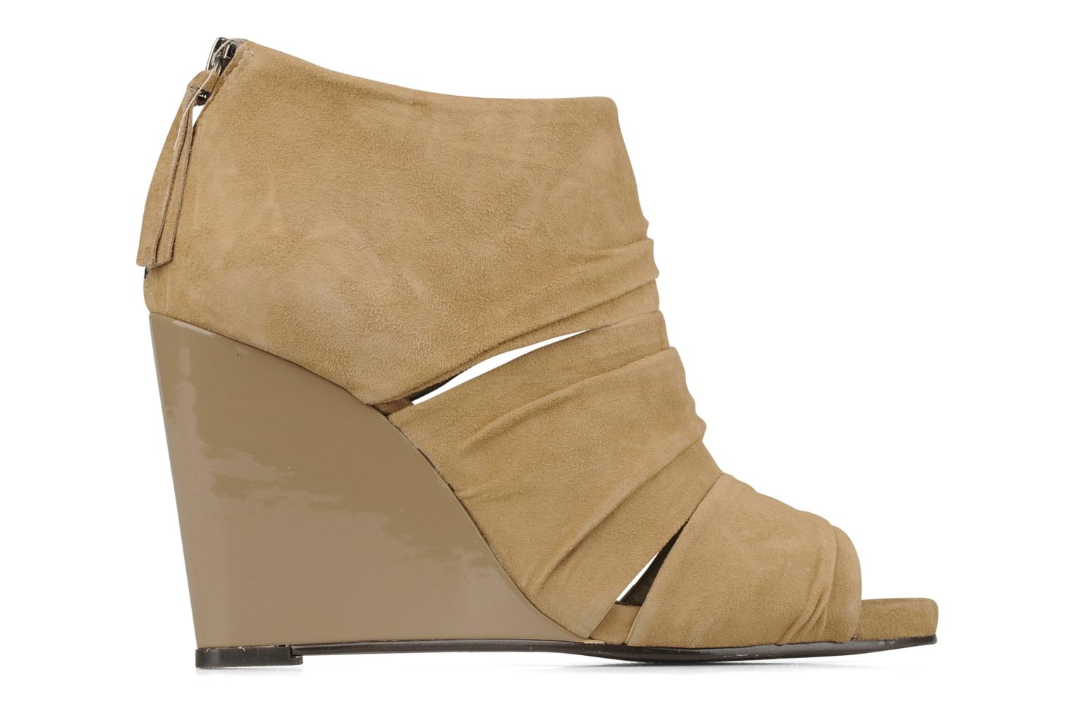 Ankle boots Carvela Asterix Beige back view