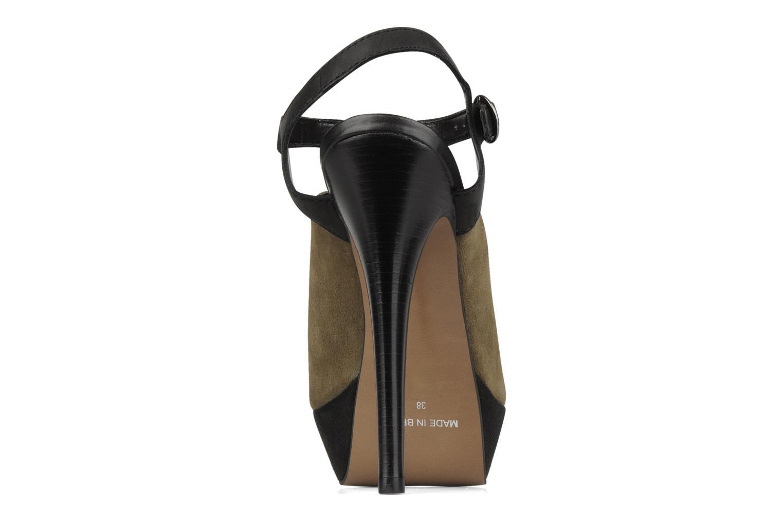 Sandales et nu-pieds Carvela Acoustic Vert vue droite