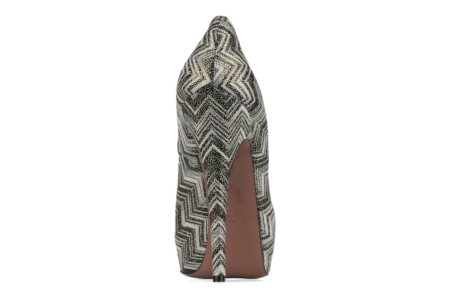 High heels Missoni Anatolia Black view from the right