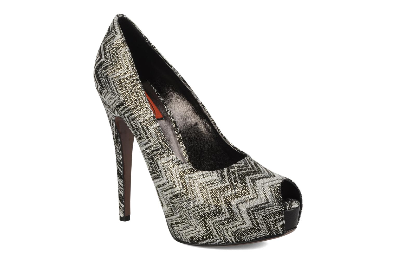 High heels Missoni Anatolia Black detailed view/ Pair view