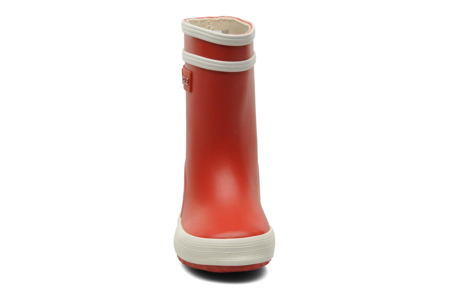 Boots & wellies Aigle Baby Flac Red model view