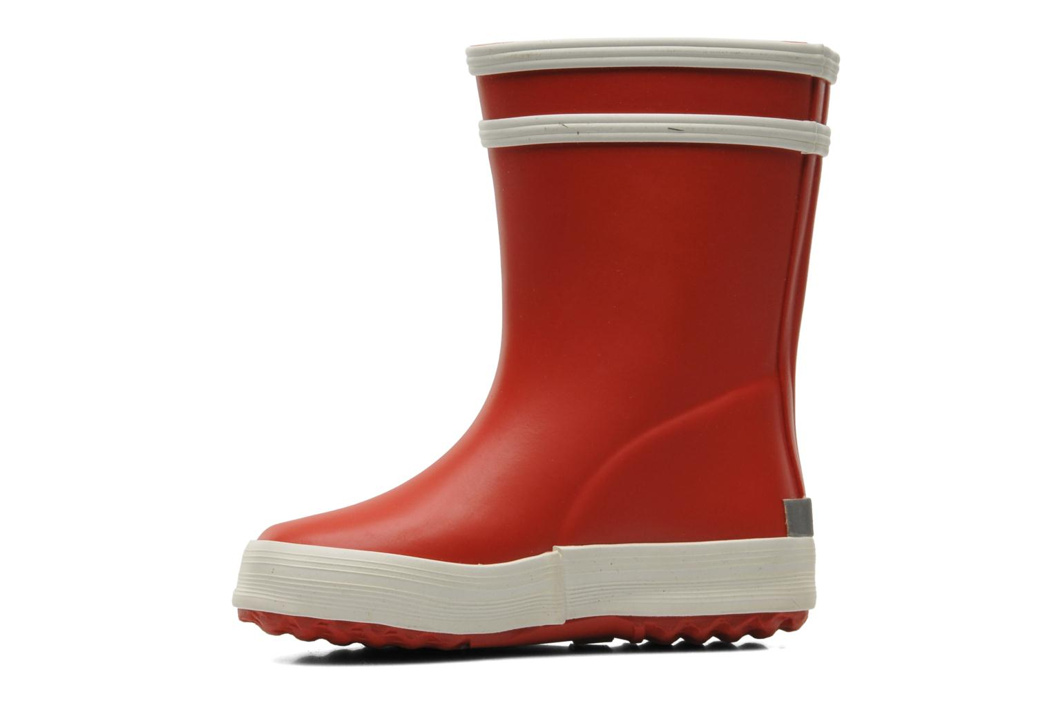 Boots & wellies Aigle Baby Flac Red front view