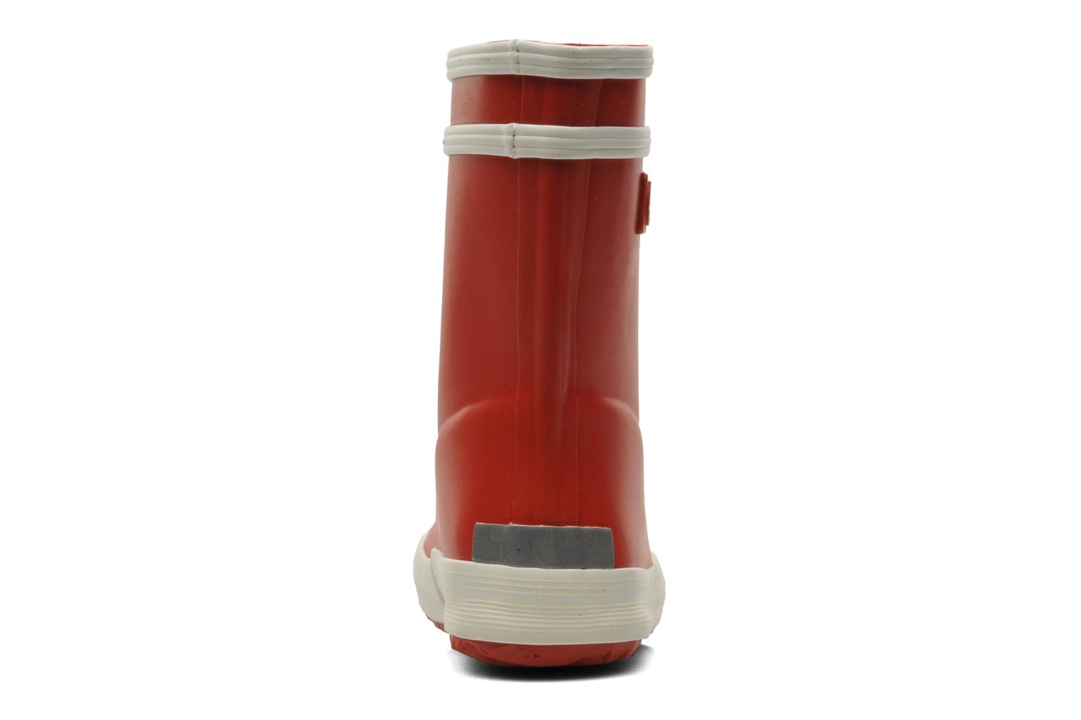 Boots & wellies Aigle Baby Flac Red view from the right