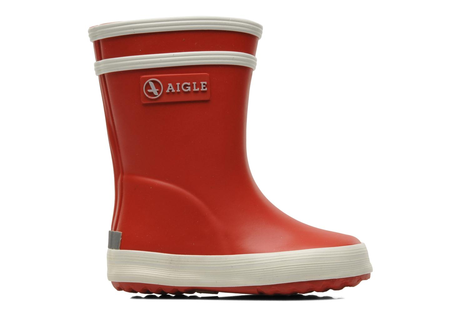 Boots & wellies Aigle Baby Flac Red back view