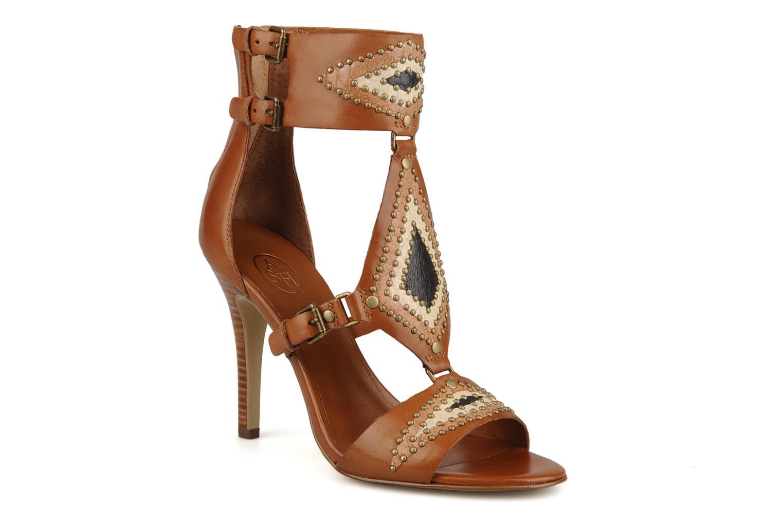 Sandales et nu-pieds Ash Helia Marron vue détail/paire