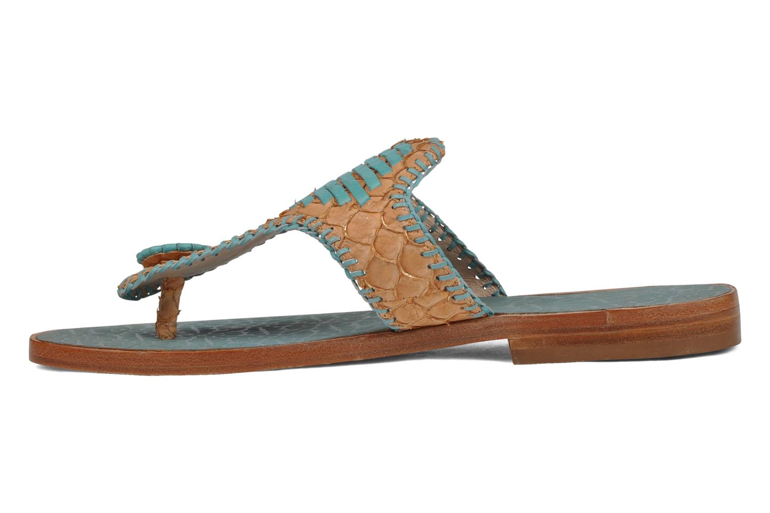 Slippers House of Harlow 1960 Emerson Blauw voorkant