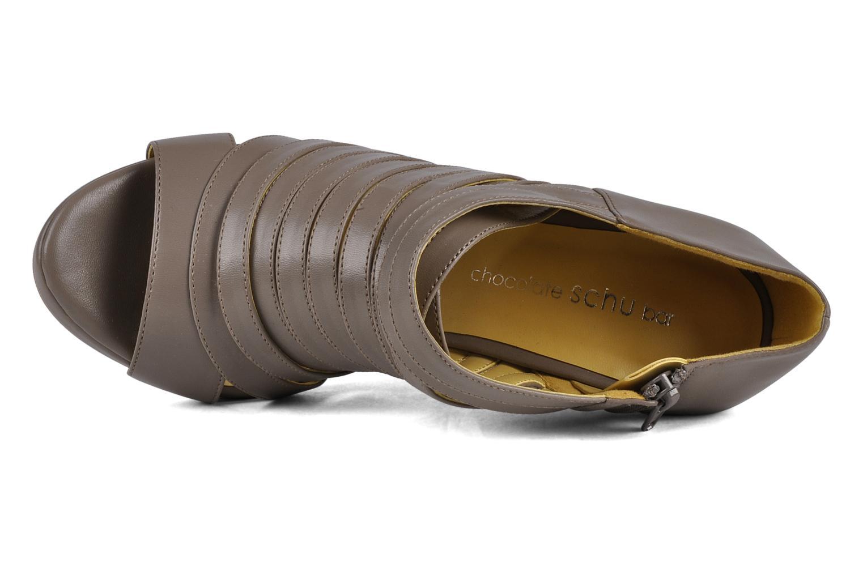 Bottines et boots Chocolate Schubar Viglio Gris vue gauche