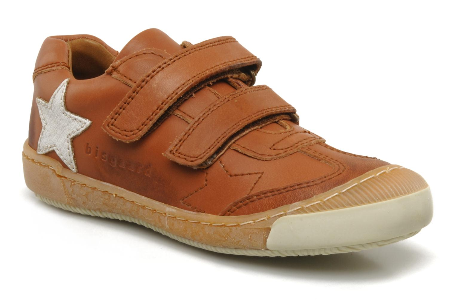 Trainers Bisgaard Sapote Brown detailed view/ Pair view