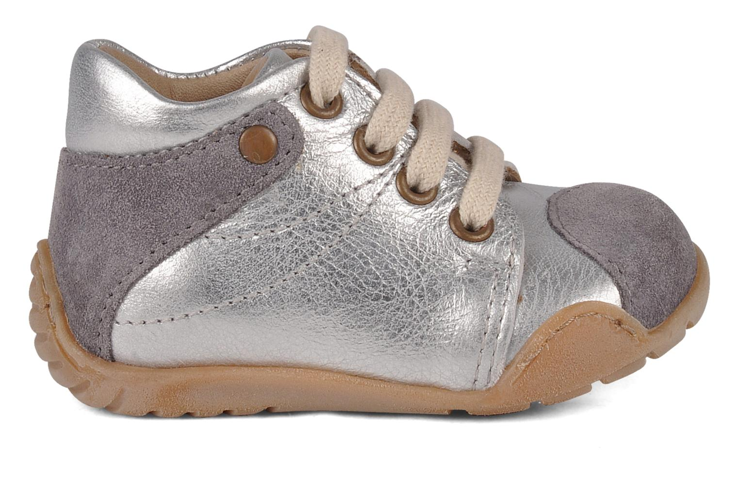 Ankle boots Bisgaard Feijoa Silver back view