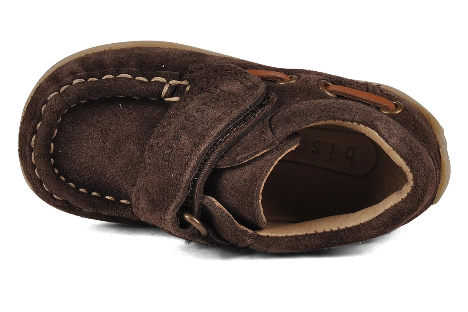 Loafers Bisgaard Maypop Brown view from the left