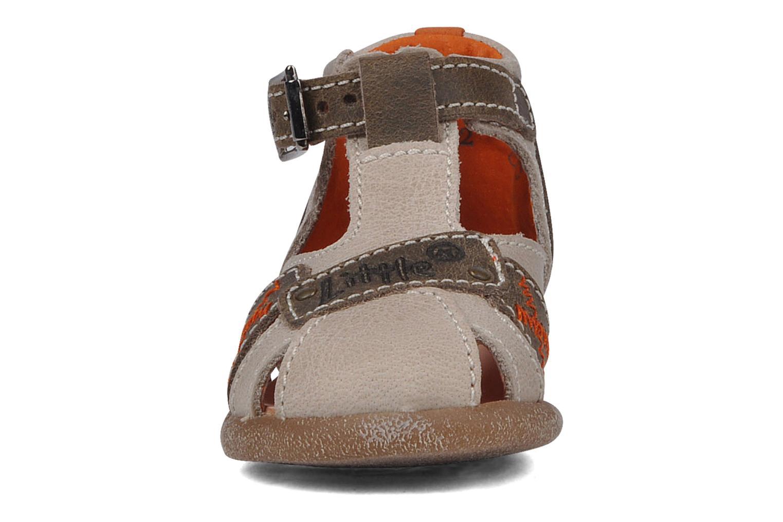 Bottines d'été Little Mary Herwan Gris vue portées chaussures