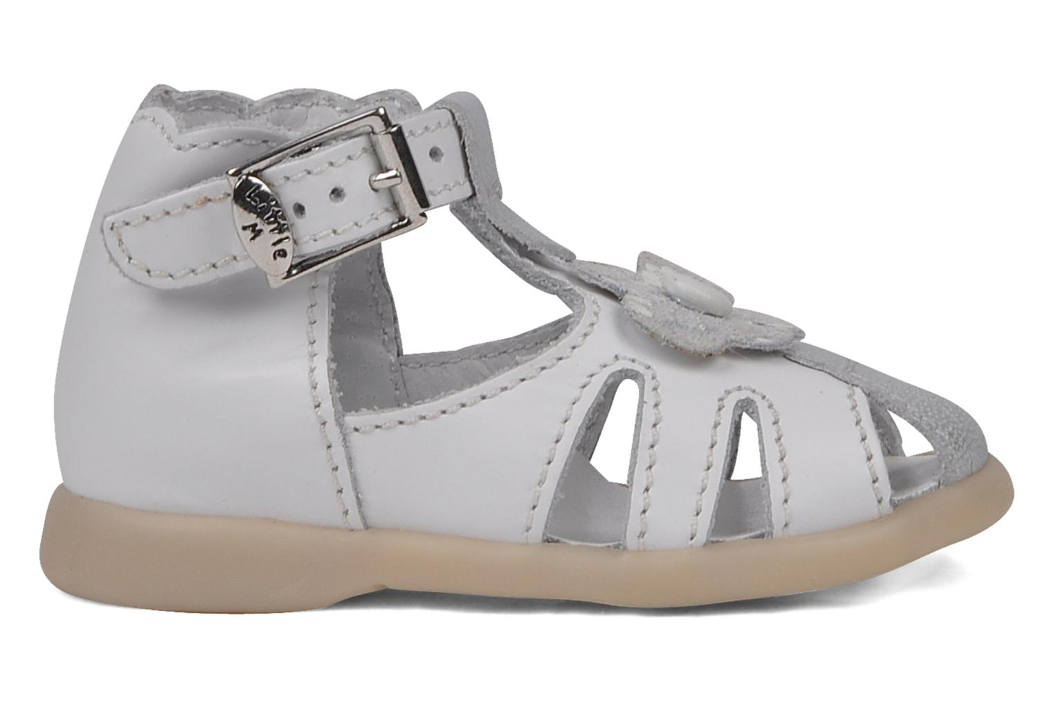 Sandalen Little Mary Hinesse Wit achterkant