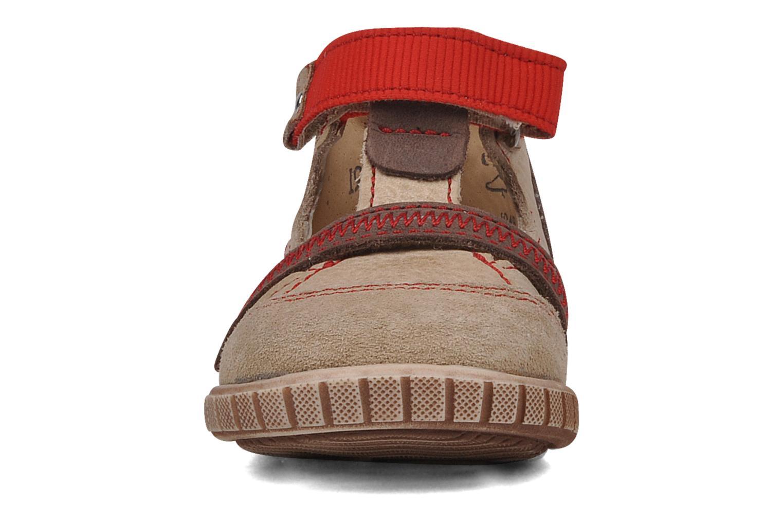 Bottines d'été Little Mary Hindou Beige vue portées chaussures